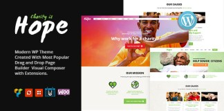 Hope v1.0 - Non-Profit, Charity & Donations Nulled Free