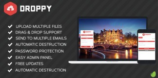 Droppy v1.4.0 - Online file sharing Nulled