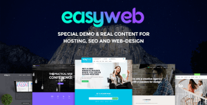 EasyWeb v2.1.7 - WP Theme For Hosting, SEO and Web-design Agencies
