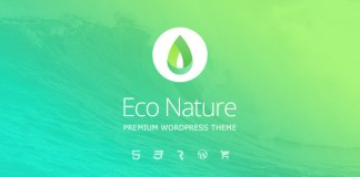 Eco Nature v1.2.7 - Environment & Ecology WordPress Theme Nulled