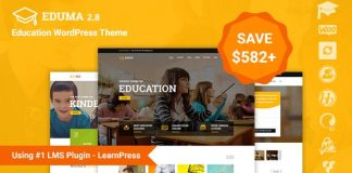 Education WordPress Theme | Education WP v2.8.6
