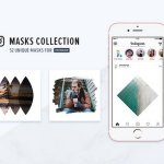 Instagram Masks Collection CreativeMarket 1170180