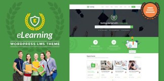 LMS WordPress Theme - eLearning WP V2.4.4 Nulled