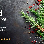 Neptune v5.0.4 – Theme for Food Recipe Bloggers & Chefs | Themeforest
