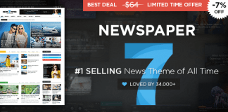 Newspaper v7.8 - Wordpress News/Magazine Theme