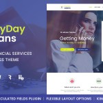 Payday Loans v1.0.3 – Banking, Loan Business and Finance WordPress Theme Nulled Free