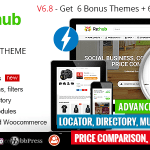 REHub v6.8.9.5 – Price Comparison, Affiliate Marketing, Multi Vendor Store, Community Theme