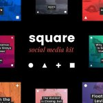 Square Social Media Kit 1313208 | CreativeMarket