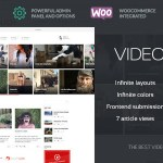 VideoTouch v1.8.2 – Video WordPress Theme Nulled