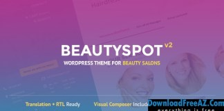BeautySpot v2.3.5 – WordPress Theme for Beauty Salons | Themeforest