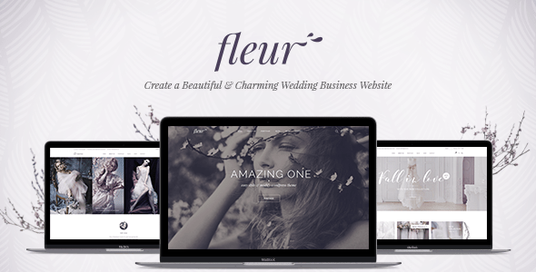 Fleur v1.0 - A Theme for Weddings, Celebrations, and Wedding Businesses