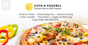 Food & Pizzeria v1.0.9 – Ultimate Delivery Theme | Themeforest