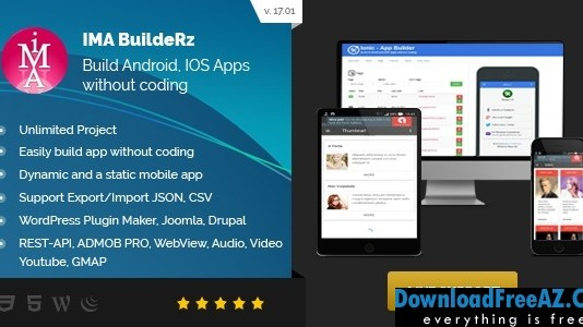 Ionic Mobile App Builder v17.02.01 | Codecanyon