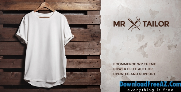 Mr. Tailor v2.4.2 - Responsive WooCommerce Theme