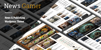 NewsGamer v2.1 - Premium WordPress News / Publishing Theme | Themeforest