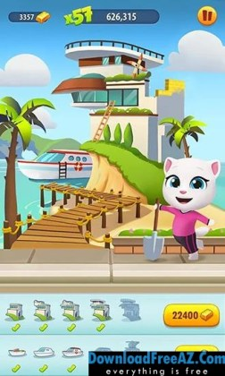 Talking Tom Gold Run v1.7.4.850 APK (MOD, unlimited money) Android Free