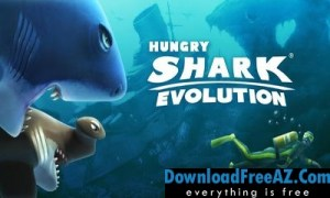 Hungry Shark Evolution v5.0.0 APK + MOD (Coins/Gems) Android Free