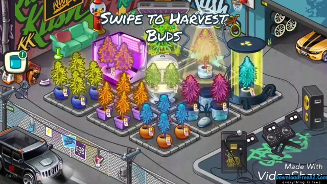 Download Free Wiz Khalifa's Weed Farm + (Mod Money) for Android