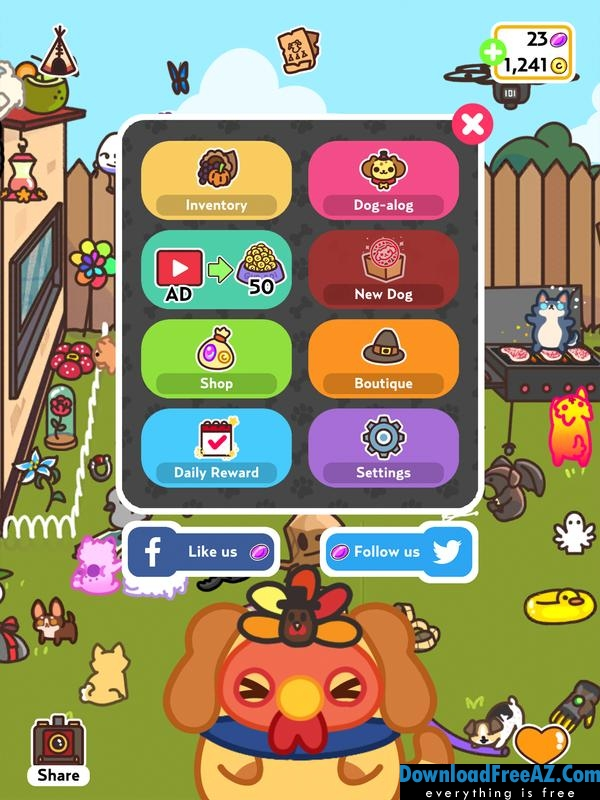 Download Free KleptoDogs v1.6 (Mod Money) for Android