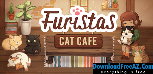 Download Free Furistas Cat Cafe + (Mod Money) for Android