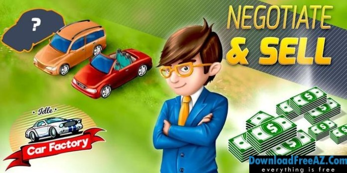 Download Idle Car Factory + (Mod Money) for Android