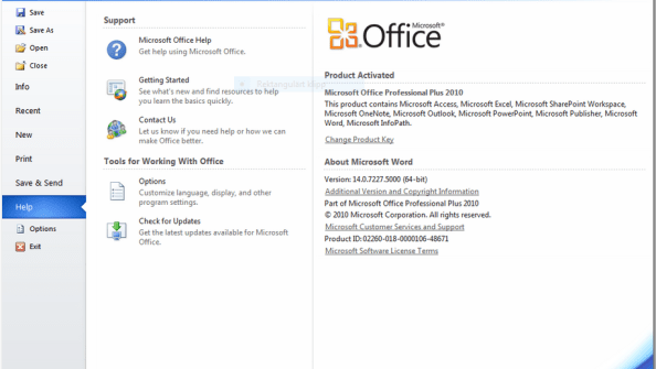 You can download Microsoft Office 2010 Professional Plus for free