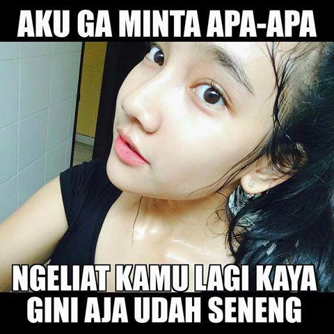 Gambar Meme Wanita Cantik Lucu Bikin Ngakak  Download