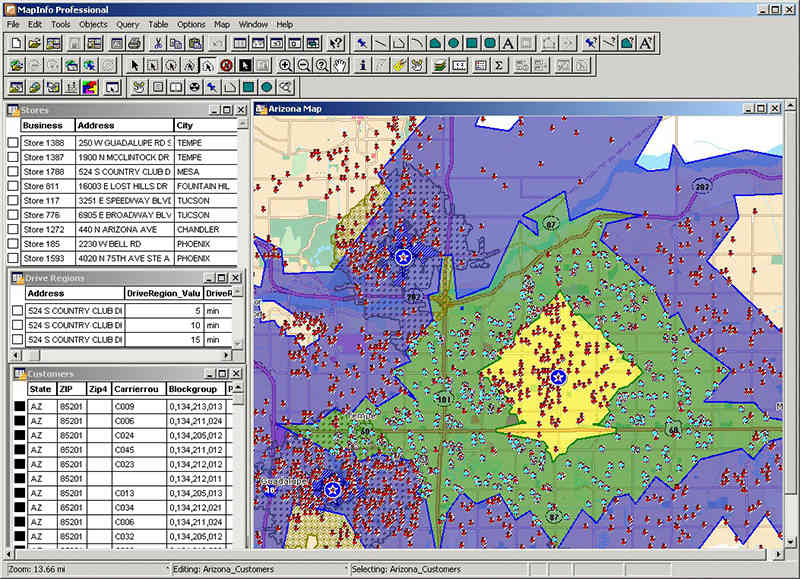 Pitney Bowes MapInfo