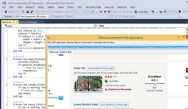 iMacros WebBrowser Component