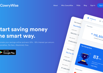 Download Cowrywise App