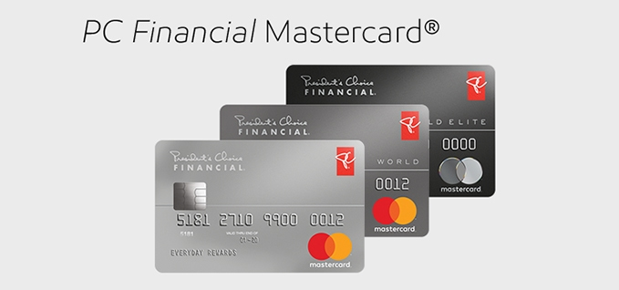 PC Financial Mastercard App