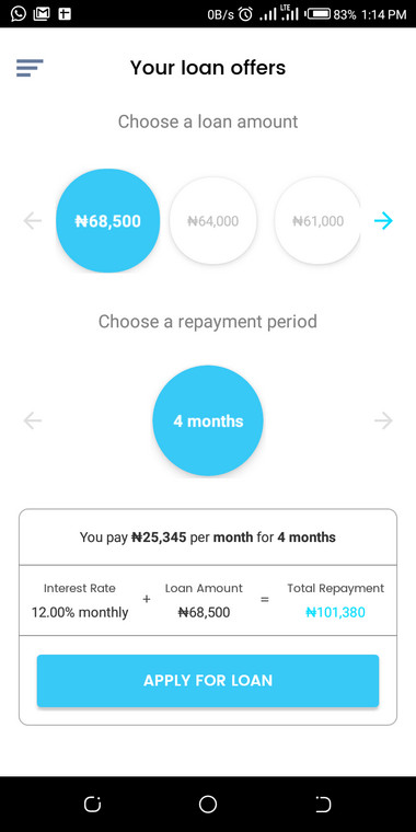 Best Quick Loan App in Nigeria - Carbon