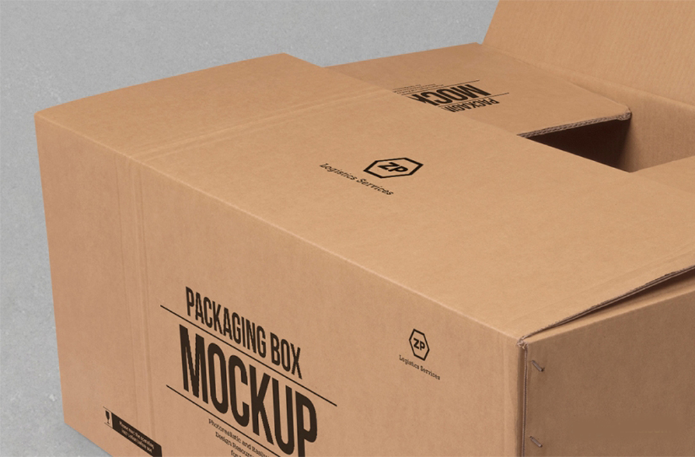 Download Cardboard Box Mockup Free PSD | Download Mockup