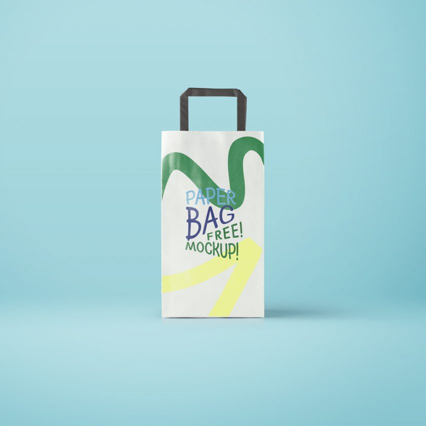 Download Paper Bag Packaging Mockup Free PSD | Download Mockup