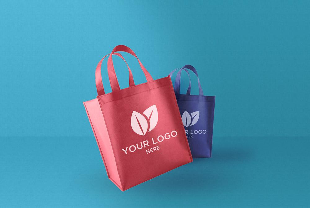 Fabric Shopping Bag Mockup Free PSD  Download Mockup