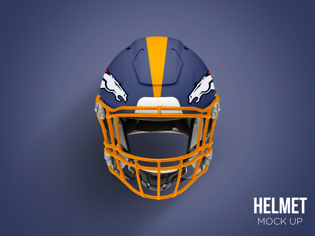 Football Helmet Mockup Free PSD  Download Mockup