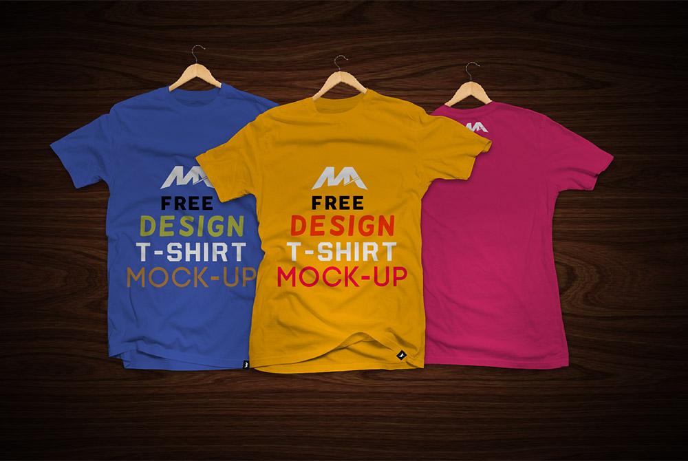 TShirt Front and Back Mockup Free PSD  Download Mockup