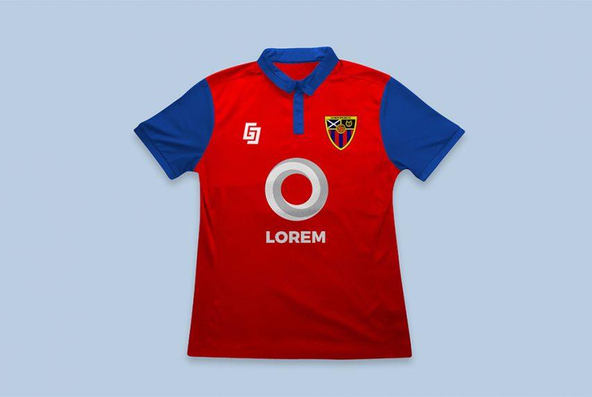 Download Football Soccer Jersey Mockup PSD | Download Mockup