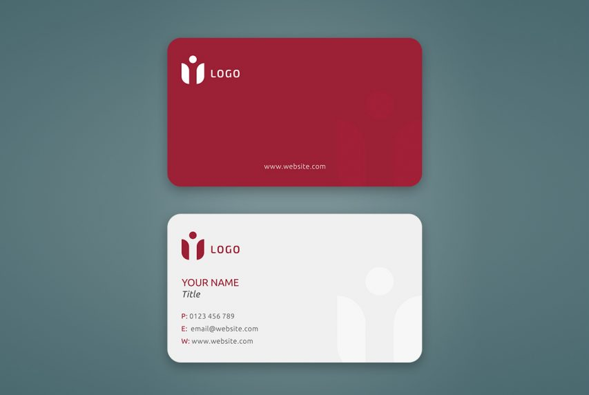 It's good for networking, outreach and more. Rounded Corner Business Card Mockup Psd Download Mockup