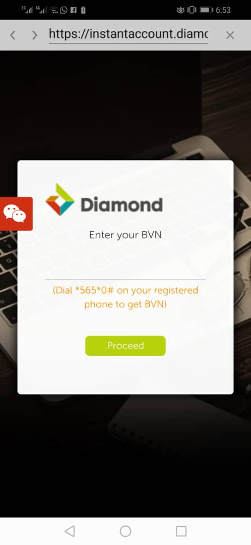 Diamond Bank Mobile App for Android