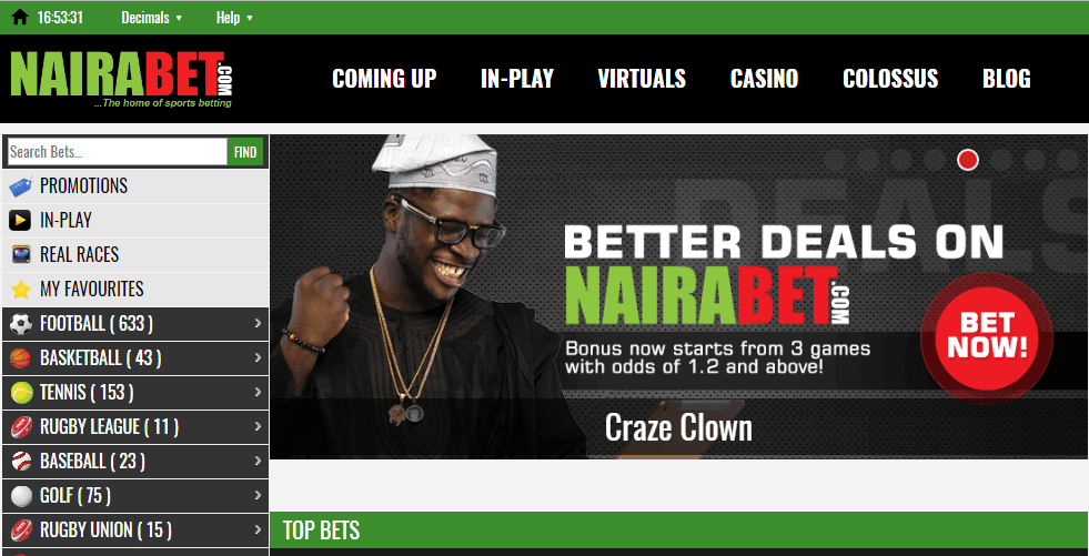 Download Nairabet Betting App For Mobile Phones
