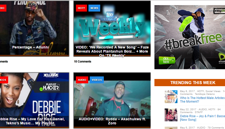 Download Tooxclusive Music Videos DJ Mix On Mobile