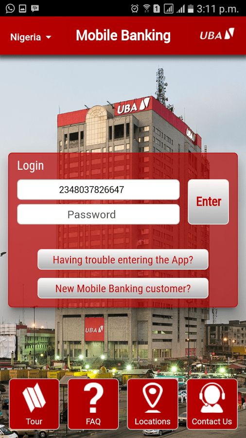 UBA Mobile App Download For Android