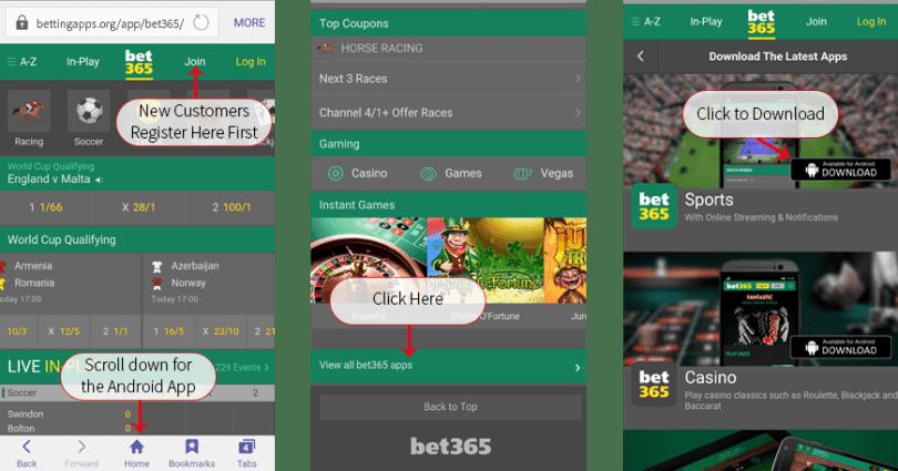 Download Bet365 App APK