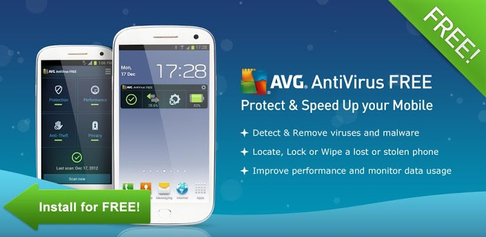 Download AVG Antivirus App APK For Android