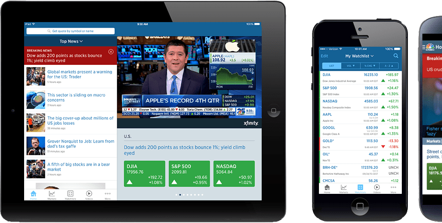 Download CNBC Mobile App For Android