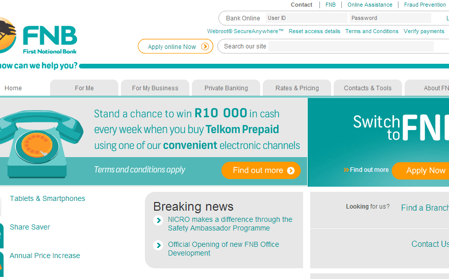 Download FNB Mobile Banking App Android