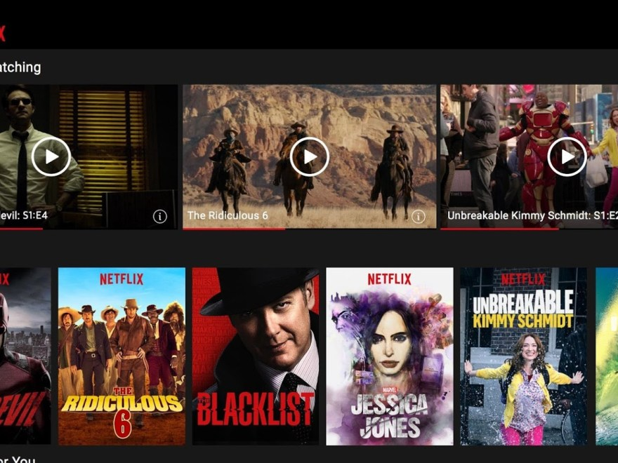 Download Netflix Mobile App Android