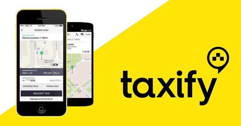 Download Taxify App for Quick Tax Booking On Mobile