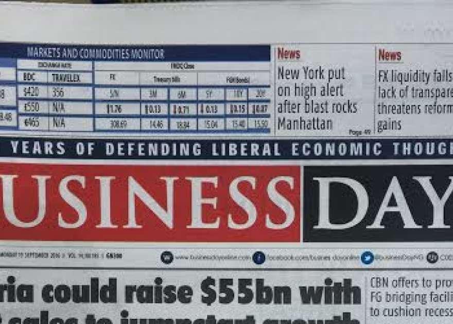 BusinessDay Nigeria Newspaper Online